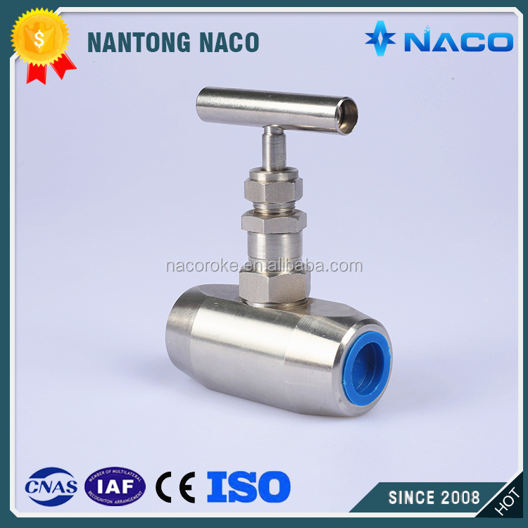 10000psi Stainless Steel T Handle Angle Patterns Rising Plug Valve