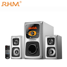 RHM 30W Satellite 2.1 Home Theater Speaker With FM/SD/USB/AUX/Remote Control