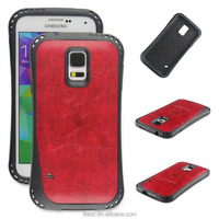 So cool designer mobile cell phone case for galaxy s5 with soft TPU and top quality PU leather very good hand feeling