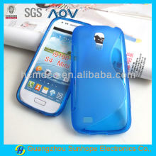 S curve back cover for Samsung S4 MINI case i9190