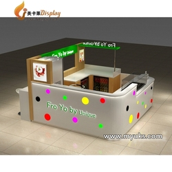 Freely 3D Design Ice Cream Cart Kiosk Salad Bar Counter For Sale