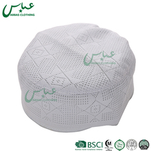 ABBAS brand OEM wholesale Crocheted caps wholesale Muslim caps