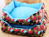 Hot-selling pet large dogs beds thicken cotton dogs mat/cusion/house with printed