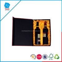 Custom Delicate Paper Box For Wine Carrier