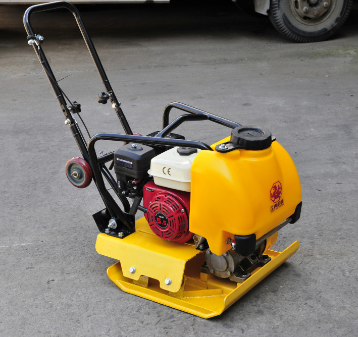 gasoline engine mechanical plate compactor