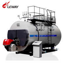 New PLC Automatic Control Industrial Fire Tube 500KG-20000KG Gas / Oil Steam Boiler With Good Price