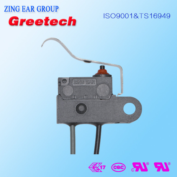 0.1a 125vac electrical waterproof subminiature micro switch t85 5e4