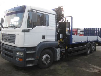 MAN TGA 410 machines transport Crane