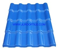 synthetic resin roof tile for modern house design