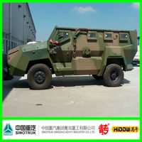 Sinotruk Qingdao 4x4 amphibious military vehicle for sale