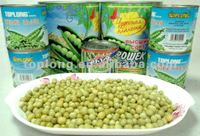 Canned Fresh Green Peas