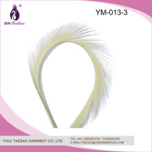 Factory Direct Artificial New Design Dyed 7-9cm Color Glitter Goose Feather
