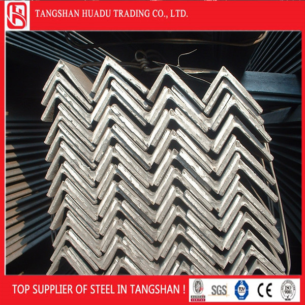 Tangshan factory Equal /unequal high quality Angle Steel Bar
