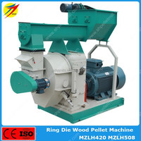 High quality MZLH420 pellet making machine for wood shavings,rice straw with overload protection system