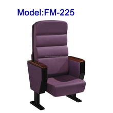 FM-225 New design auditorium chair for conference hall with hiding tablet