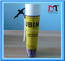 Hot sales! 750ml 500ml Polyurethane foam price pu foam sealant