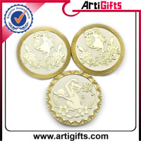 Wholesale craft old gold silver replica coins