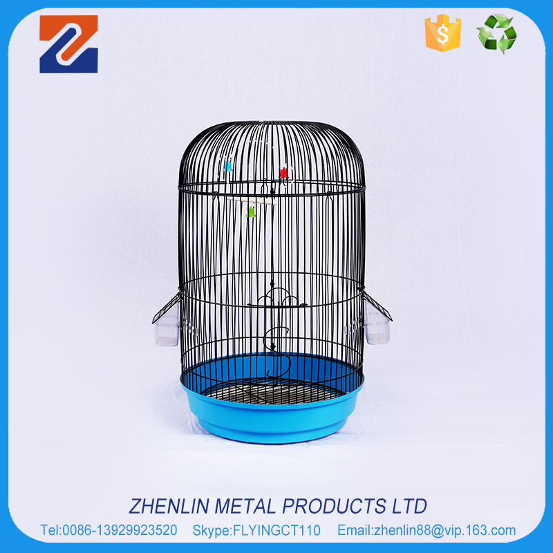 Best selling products small mini round wire mesh bird cage wrought iron