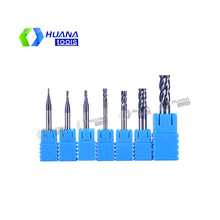 HN Carbide End Mill 4 Flutes Tungsten Steel Milling Cutter CNC Tools Set