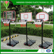 wholesale portable adjustable plastic Basketball goal posts system