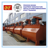 Gold Silver froth flotation/concentrating plant