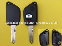 Factory Wholesale Peugeot 206 for 2 button remote car key shell cover Peugeot key