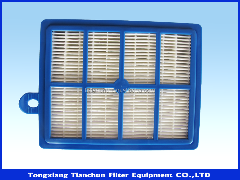 High efficiency China Factory supply competitive prices Vacuum Cleaner Hepa Filter for Electrolux EL012B