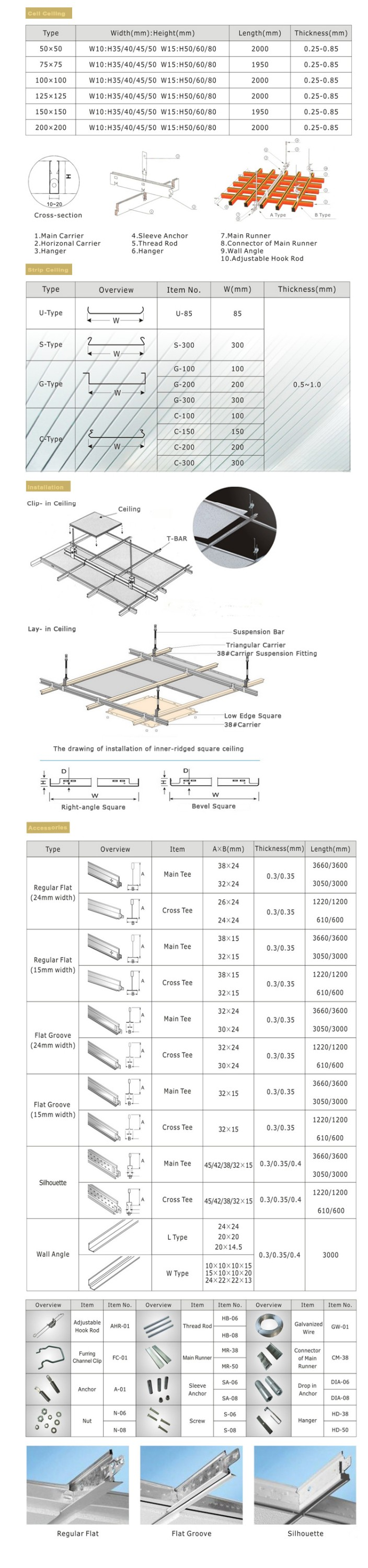 2017 China Supply Fireproof Feature Metal Aluminum Ceiling Tiles