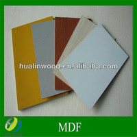 6mm white laminated melamine mdf /furniture & decoration