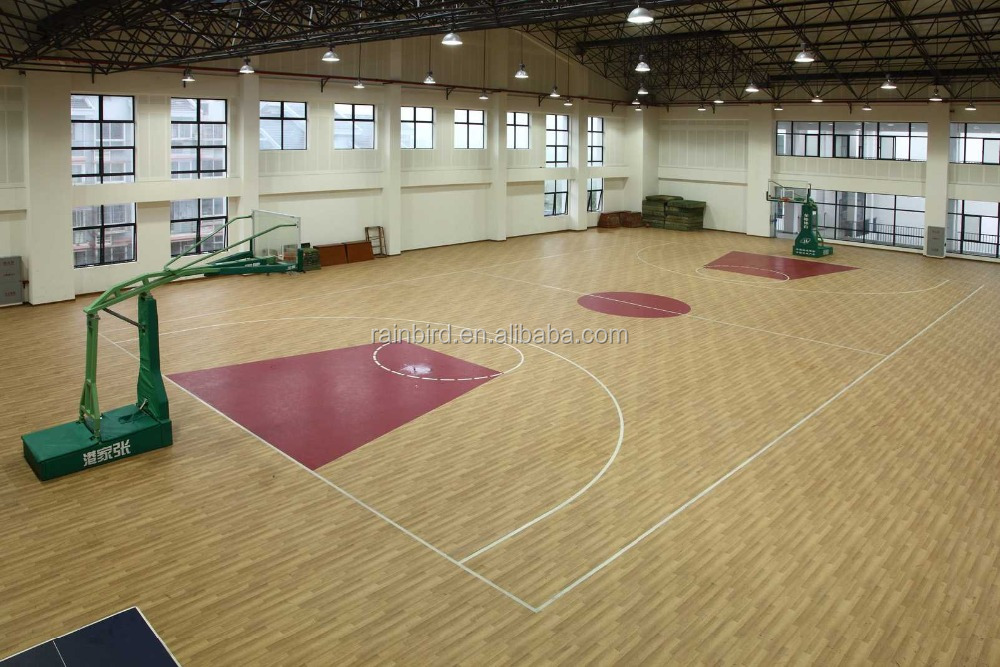 various kinds sound proof basketball pvc floor covering gyms for sale