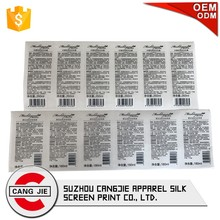 Custom High Quality Printing Adhesive Sticker Labels