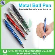 High Quality custom logo Colorful Plastic Ballpoint Pens with Promotional Pen