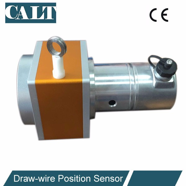 long range string pot draw wire sensor for fast speed testing machine