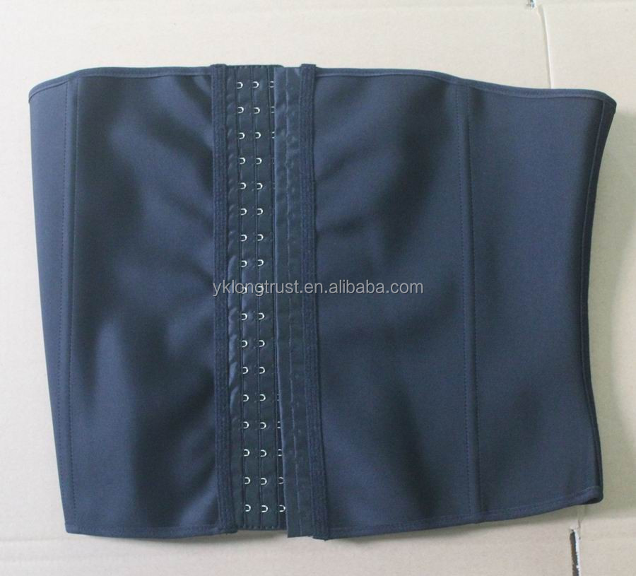 nine steel boned latex corset waist trainers with XS-6XL