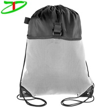 2017 Wholesale Custom Factory Price Promotional Drawstring Mesh Bag