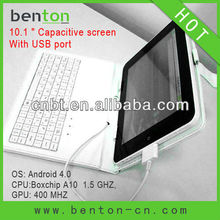 New fashion 10 inch largest tablet pc with usb port