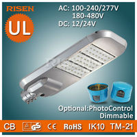 Risen DLC UL CE RoHS 5 Years Warranty Led Parking Lot, Daylight Sensor street light parts