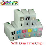 New product T8501-T8509 Empty Refillable Ink Cartridge For Epson SureColor P800 Printer With ARC Chip In 80ML