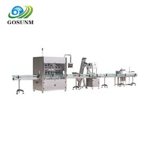 Servo motor new designed easy operation automatic OEM jam filling machine sauce bottling line meet GMP standard