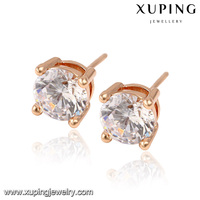 91755-xuping fashion jewelry beautiful latest earring crystal earrings stud designs for women