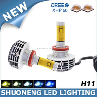 Wholesale Price Hot Sale 3000lm Super Bright Car H11 LED Head Bulb