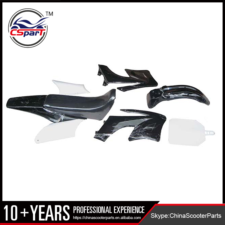 Plastic Fairing Kit Fender Plate Guard Cover Seat Tank for Apollo Thumpstar Orion Pit Dirt Bike 110CC 125CC 140CC 150CC 160CC