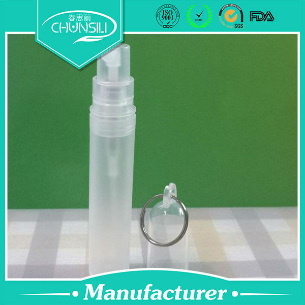 plastic deodorant container with PET 3ml hair salon spray bottle