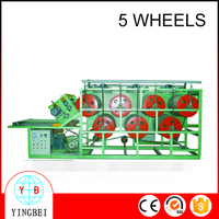 High quality water-cooled Type Sheet Extruder with Five Wheel(double-deck)