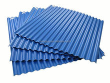 PVC plastic sheet roof covering plastic corrugated pvc roofing sheet