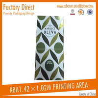 high quality art paper Cardboard olive oil box wholesale