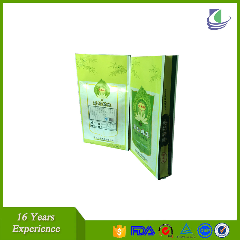 Plastic Plastic woven sack snack packaging sachet with low price