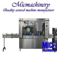MIC-12-1 Germany standard TOP quality full automatic small scale aluminum Can beer filling machine with CE 1000-2500Can/hr