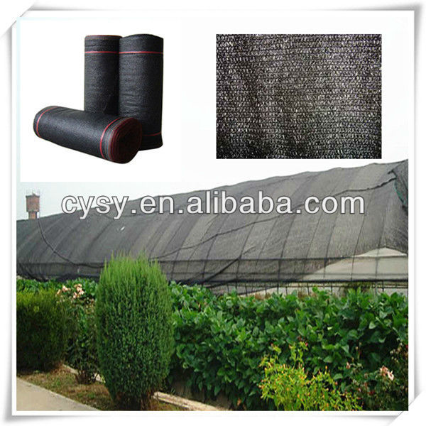 Recycled HDPE UV stabilized shade net & greenhouse shade cloth & sun shade fabric roof