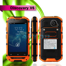 4.0 Inch Touch Screen GSM CDMA Mobile Phone Dual Core MTK6575 IP68 Waterproof Dual SIM Discovery V6 Android 4.2